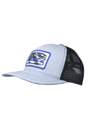 Blue Line Cap (Law Enforcement Officer)