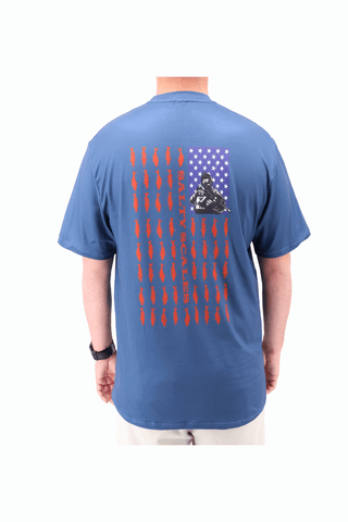 Image of American Flag Short Sleeve T-Shirt
