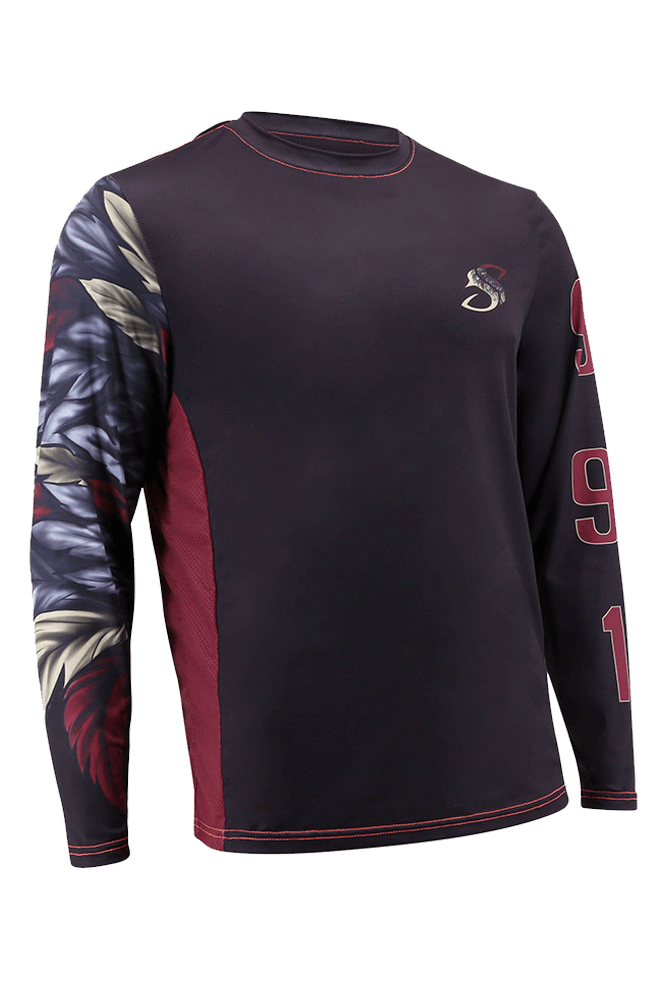 Indigenous Indian Long Sleeve Fishing Shirt for Men