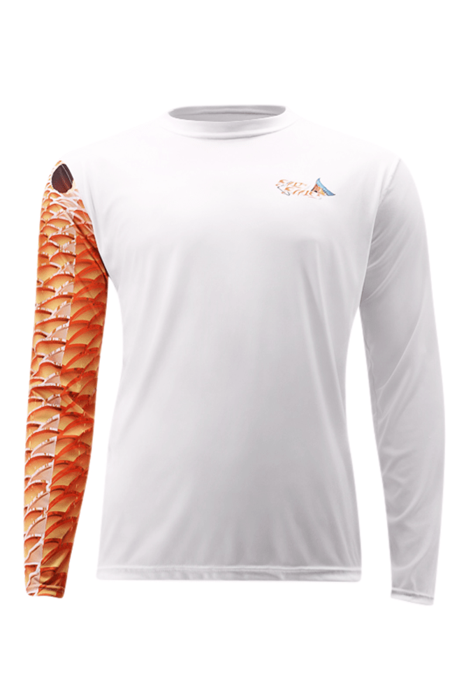 Redfish Long Sleeve Fishing Shirt