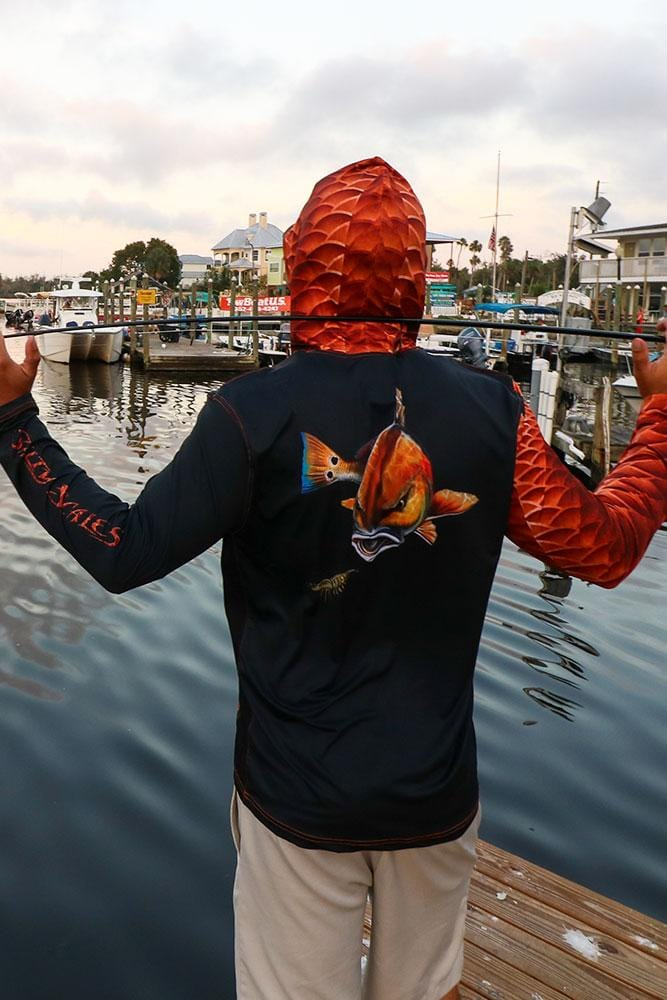 Redfish Gen 3 Hoodie for Men, UPF Protection