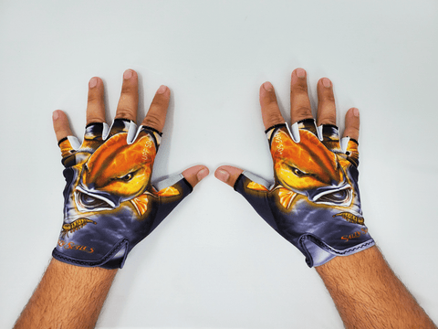Salty Scales Fishing Gloves
