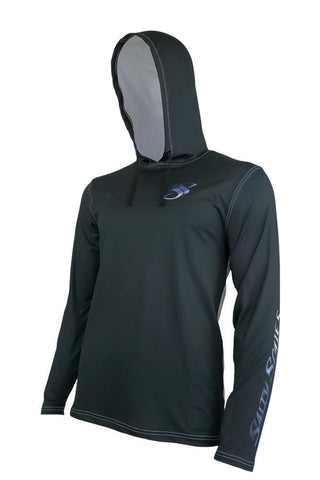 Image of Mako Shark Performance Fishing Hoodie for Men