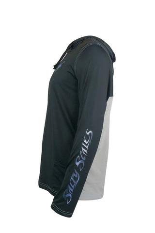 Image of Mako Shark Performance Fishing Hoodie for Men, Dri-Fit Clothing