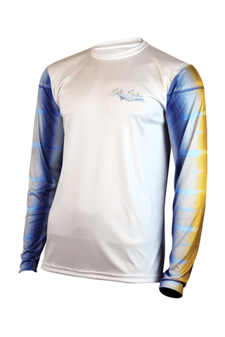 Image of Marlin Long Sleeve Fishing Performance Shirt Youth