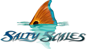 Salty Scales Redfish Tail Decal