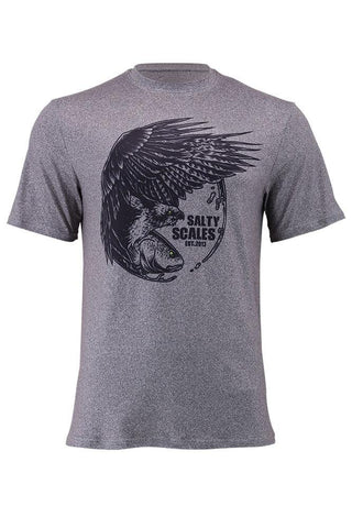 Image of Redfish Osprey Short Sleeve T-Shirt