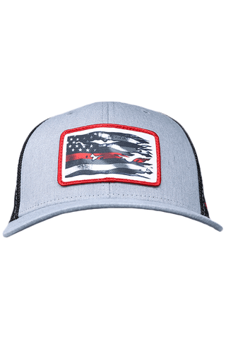 Image of Flexfit Red Line Firefighter Cap