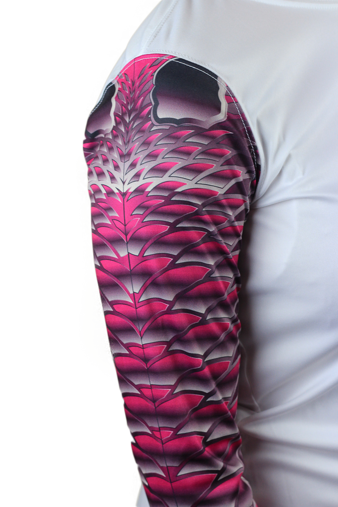 Womens Redfish Pink Scale Armour