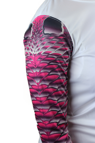 Image of Womens Redfish Pink Scale Armour