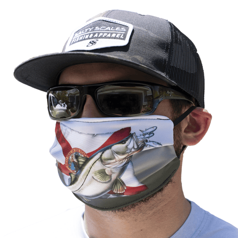 Snook Face Mask