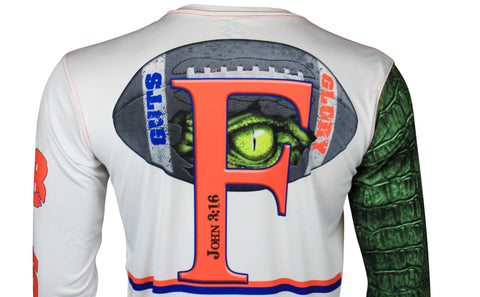 Image of Gator Guts & Glory Performance Long Sleeve Youth