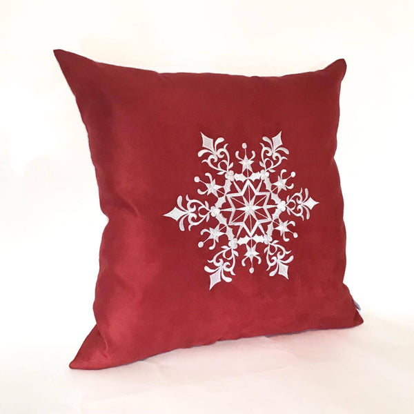 Snowflake Cushion left view