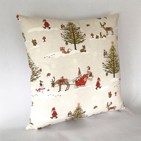 Winter Wonderland Cushion left view