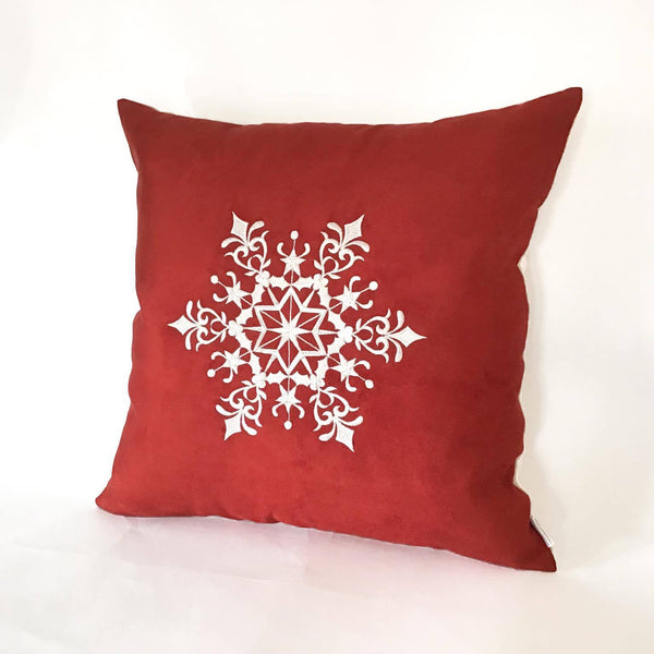 Snowflake Cushion right view