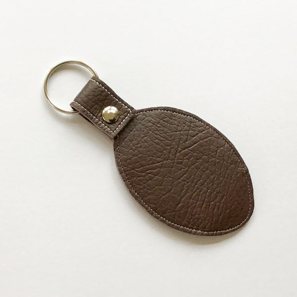 Rugby Football key fob reverse
