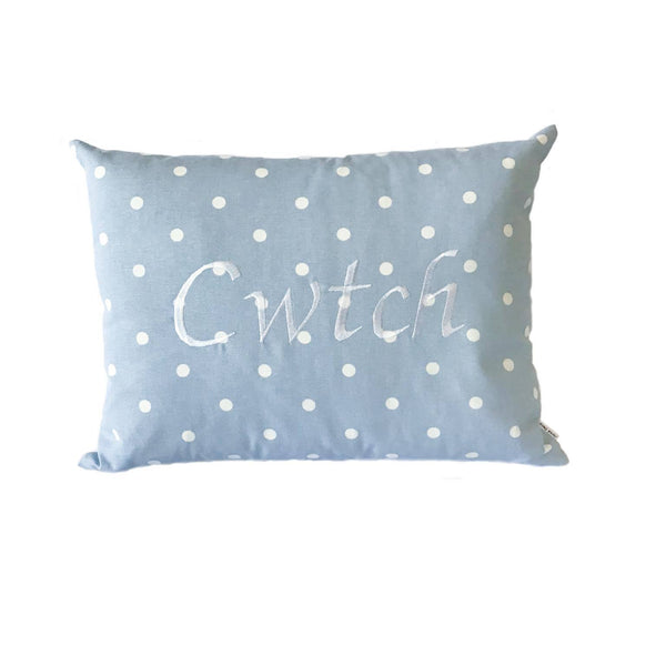 Cwtch Cushion Powder Blue