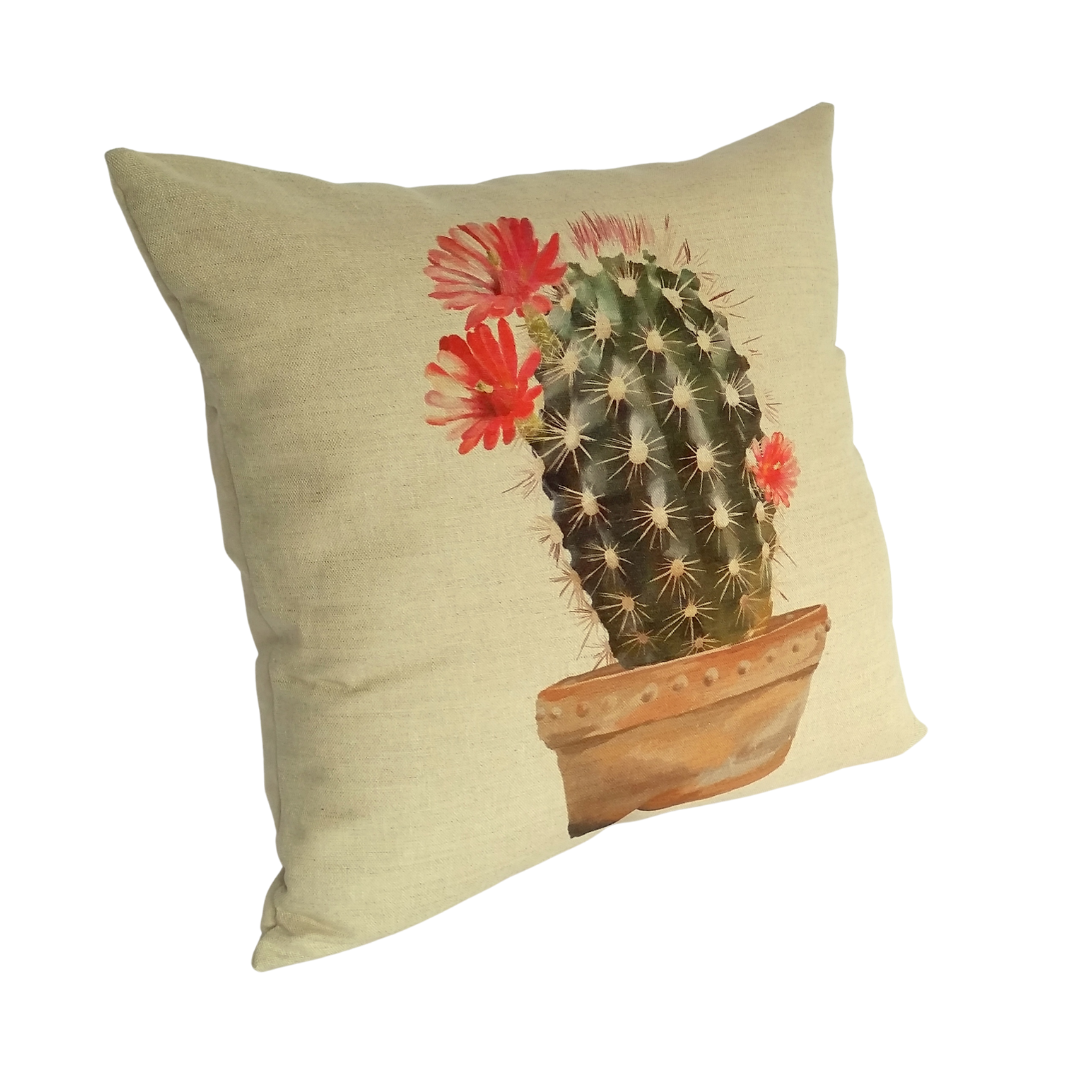 Cactus Cushion left view