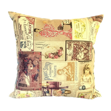 Load image into Gallery viewer, Vintage Soaps Cushion