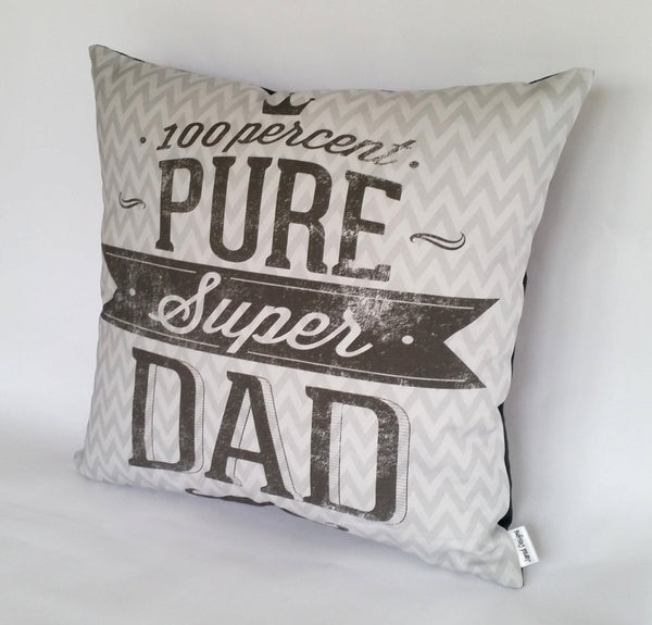 Super Dad Cushion right view