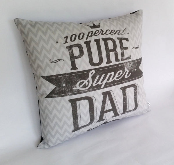 Super Dad Cushion left view