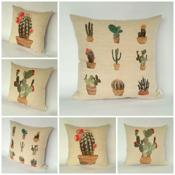 Cactus Cushion collage