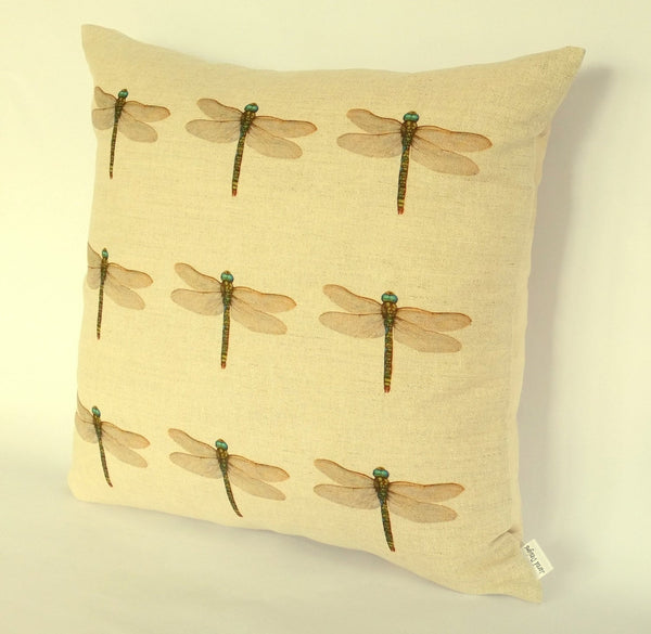 Dragonfly (multi) Cushion right view