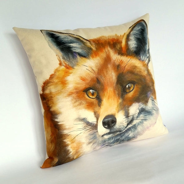 Fox Cushion left view