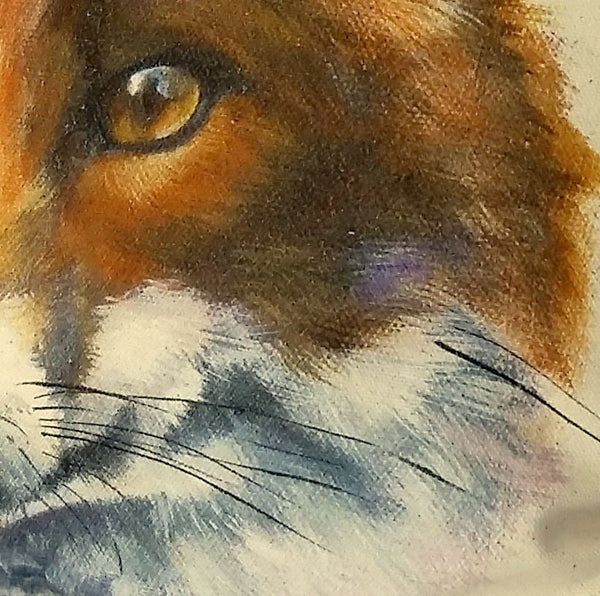 Fox Cushion close up