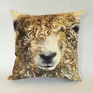 Longwool Ram Cushion