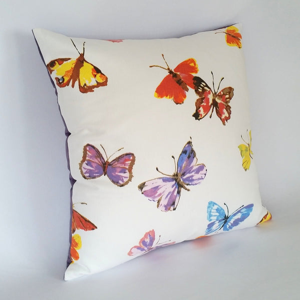 Butterfly Cushion left view