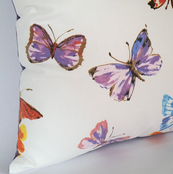 Butterfly Cushion left corner