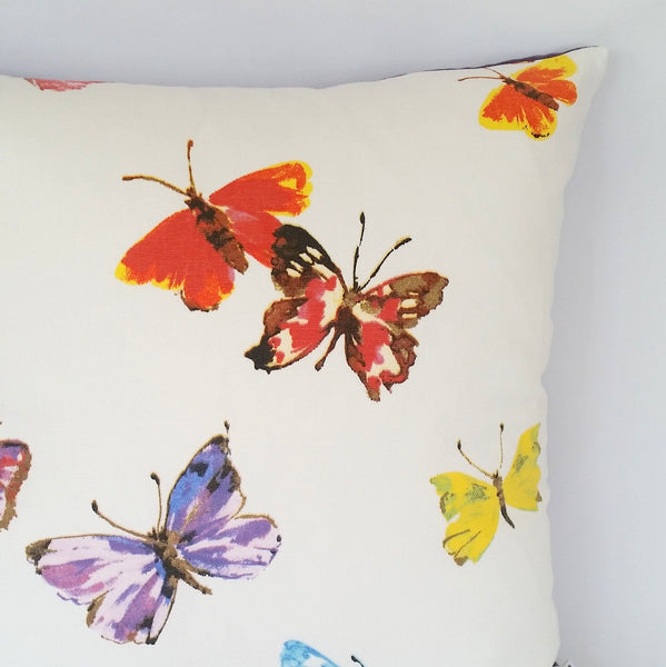 Butterfly Cushion right  corner