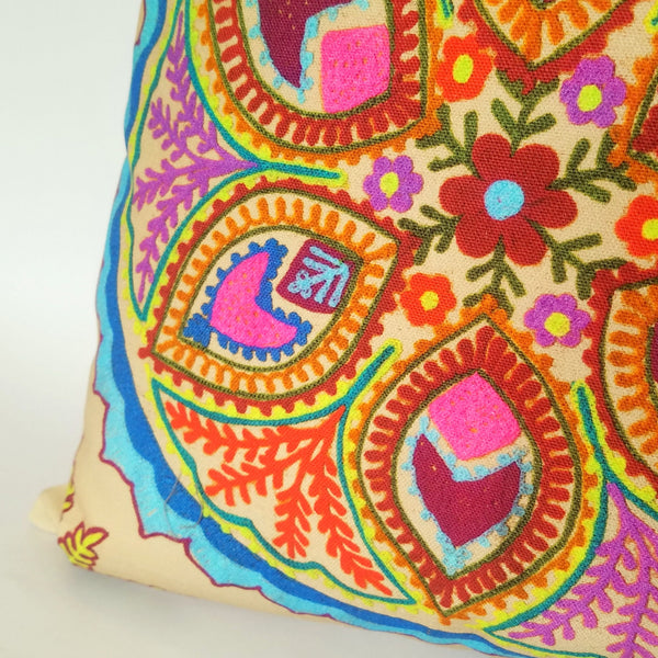 Indian Raj Sun Cushion close up