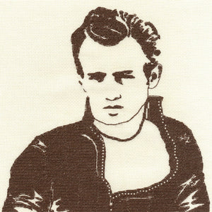 James Dean Rebel DMC cross stitch kit