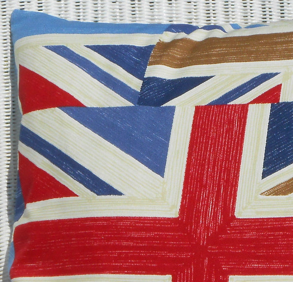 Union Jack Cushion left close up