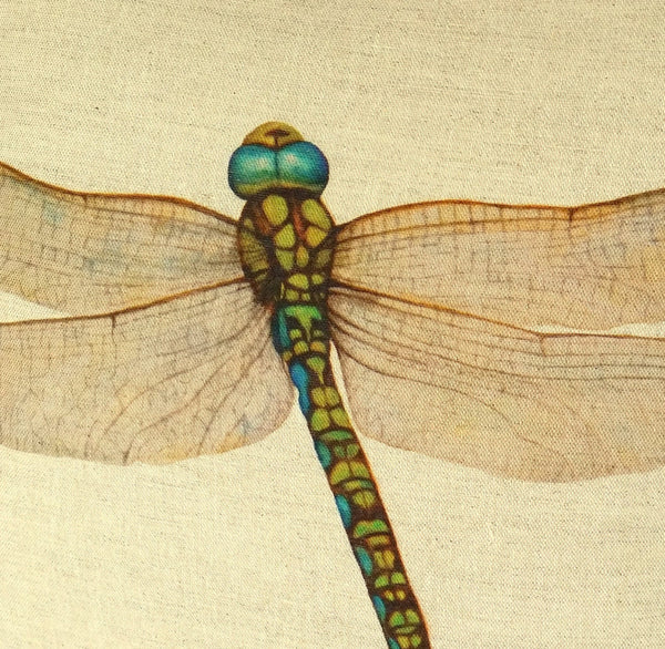 Dragonfly Cushion close up