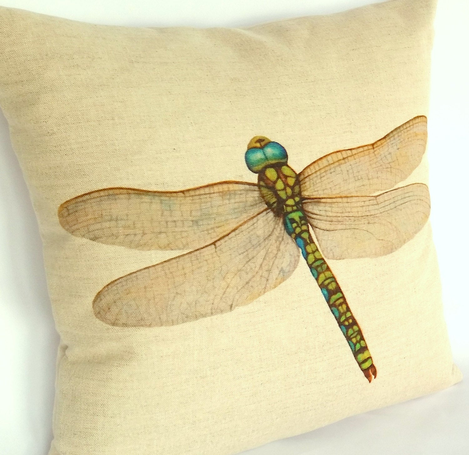 Dragonfly Cushion left view
