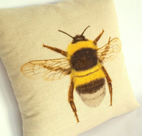 Bumblebee Cushion left view