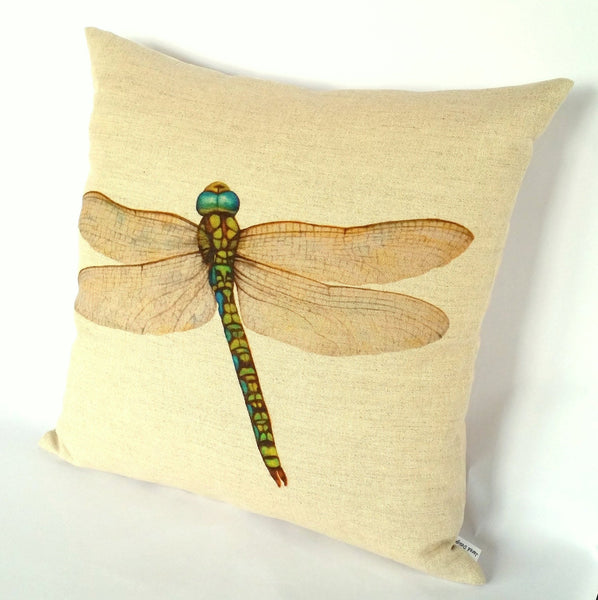 Dragonfly Cushion right view