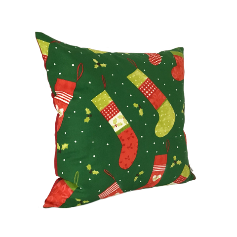 CHRISTMAS STOCKING CUSHION COVER
