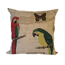 Load image into Gallery viewer, Parrot cushion