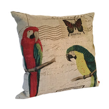 Load image into Gallery viewer, PARROT CUSHION COVER
