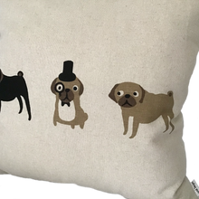 Load image into Gallery viewer, Pug Cushion
