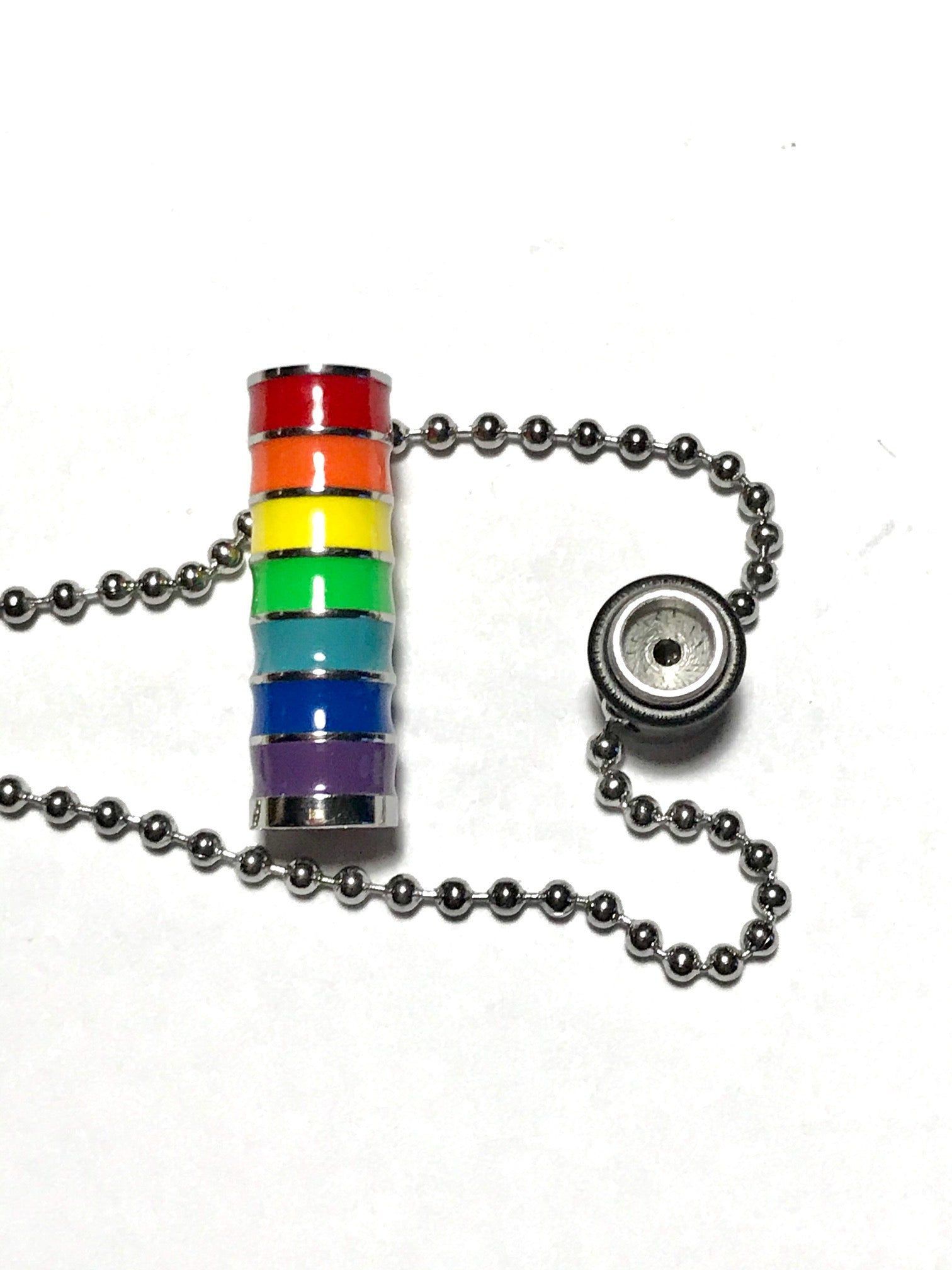 Rainbow Essential Oil Diffuser Necklace