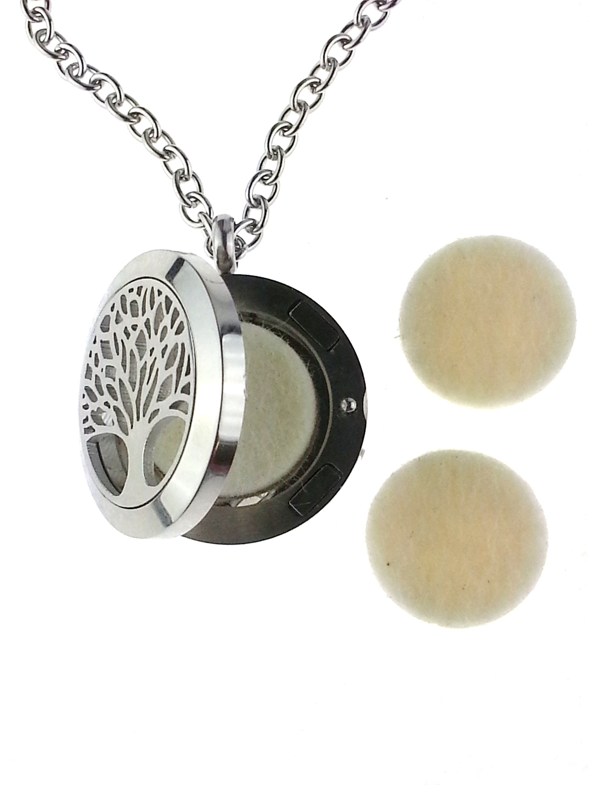 Tree of Life Essential Oil Diffuser Pendant