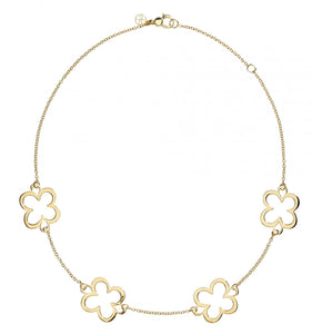 L. Klein 18K Gold Fiore Large Classic Chain Necklace