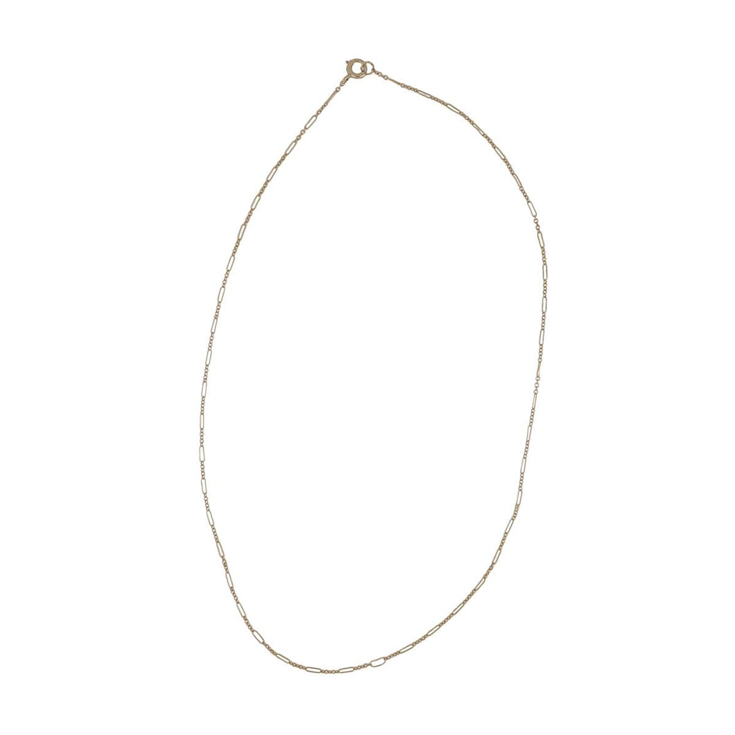 Estate 10K Gold Chain Necklace with Delicate Links