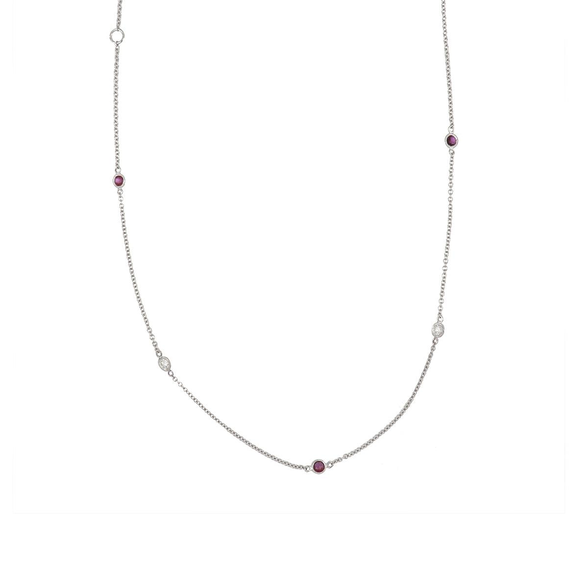 Estate .12cttw Natural Rd Ruby /& Diamond Open Polished 14Kt Yellow Gold Pendant #6798