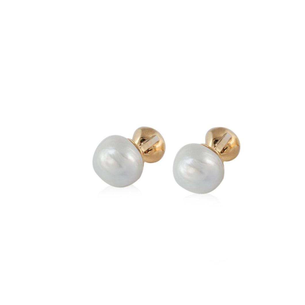 Trent Cultured Baroque Pearl Cufflinks